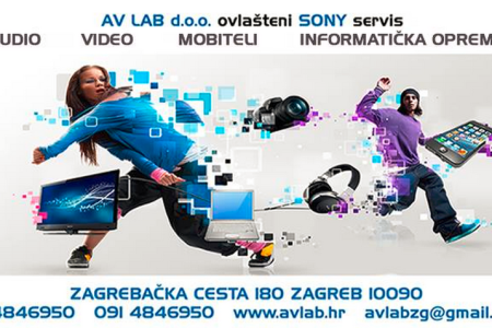 AV LAB – AUDIO, VIDEO, MOBITELI, INFORMATIČKA OPREMA